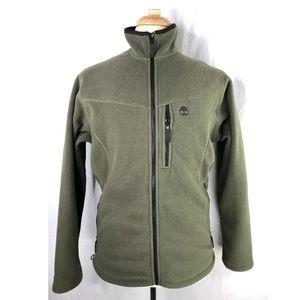 Timberland Mens Green M Fleece Jacket EUC